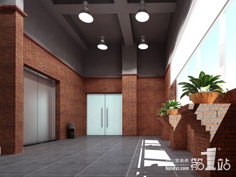 是业建筑模型办公室装修案例