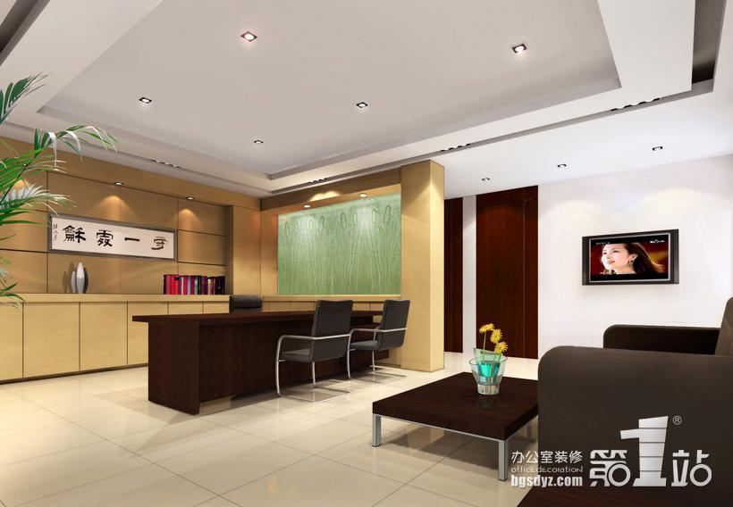 在广州市公路工程公司的办公室装修中中,为了让人感觉到企业的实力与对来宾的欢迎,在利用空间的原有特性上,突显自身的气势,采用大量的暖色装点空间,让空间充满活力与无限深度。不管是前台还是办公区的设计办公室第一站的设计师们都是尽心尽力的,前台的宽广和形象墙的设计充分的突出了企业的气势。