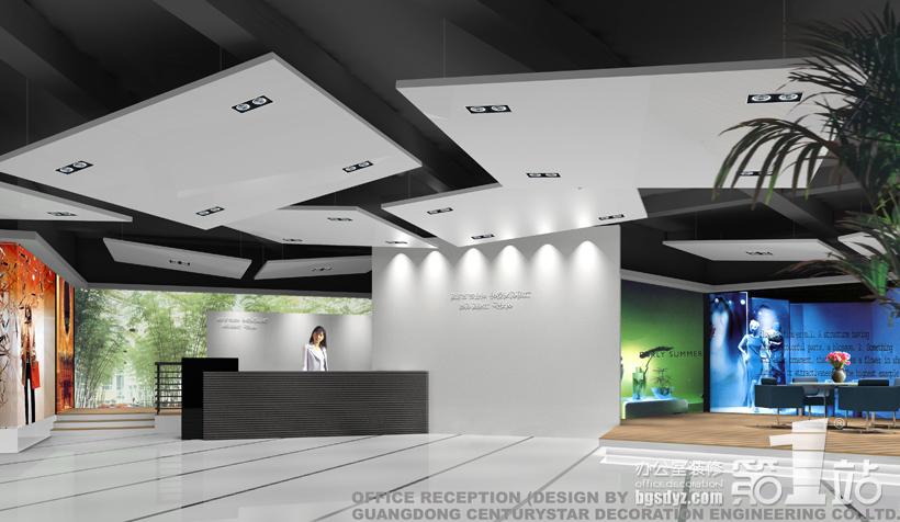 公司前厅设计图