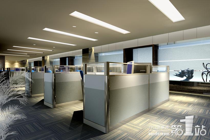 桂格化工厂办公室装修效果图