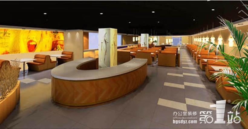 恒宝南洋自助餐厅装修案例