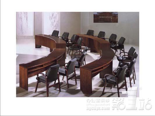办公室装修 办公家具实木家具系列四