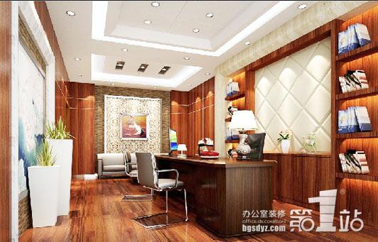 办公室装修实木复合地板的保养注意事项