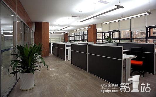 办公室装修风水布局效果图