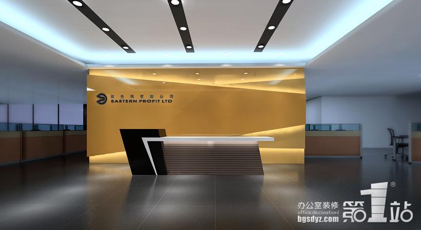 公司前臺logo墻效果圖