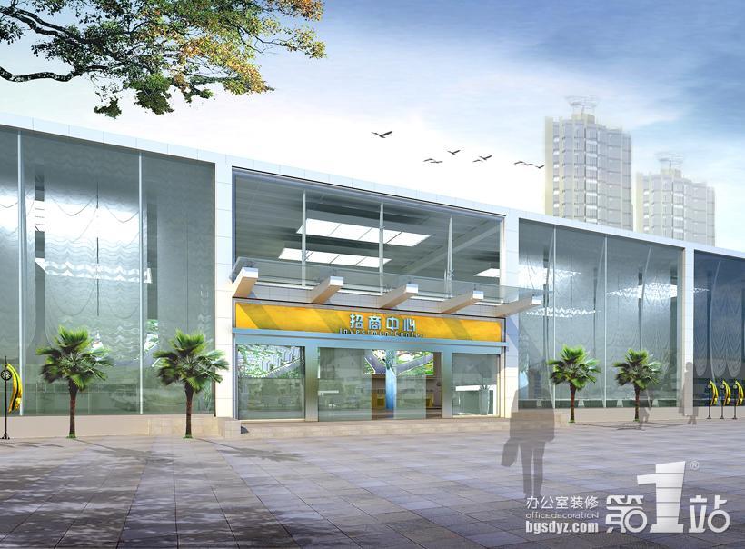 深圳华南城招商中心办公室装修案例