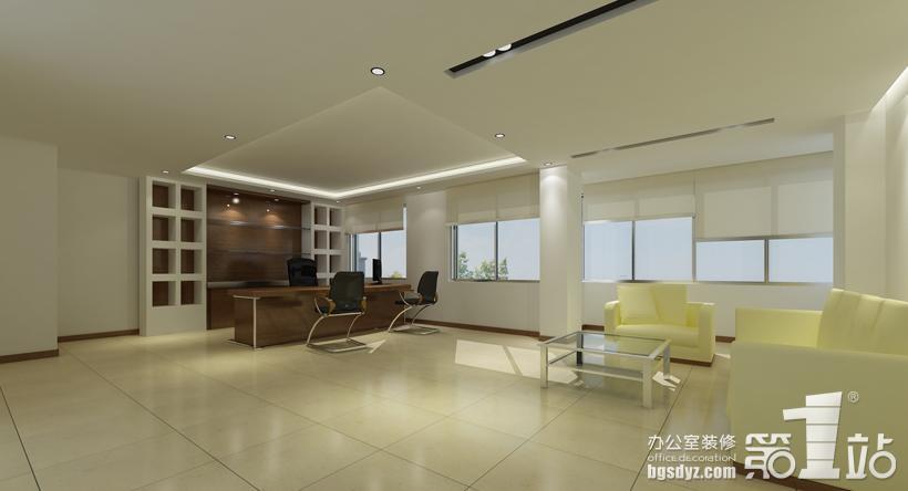 建发公司办公室装修案例