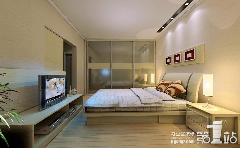 00㎡-卧室装修效果图