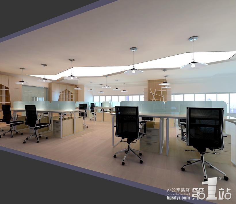 办公区,会议室和休息室的装修设计也是别具一格的