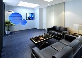 佛山云联科技有限公司办公室装修洽谈室效果图图片