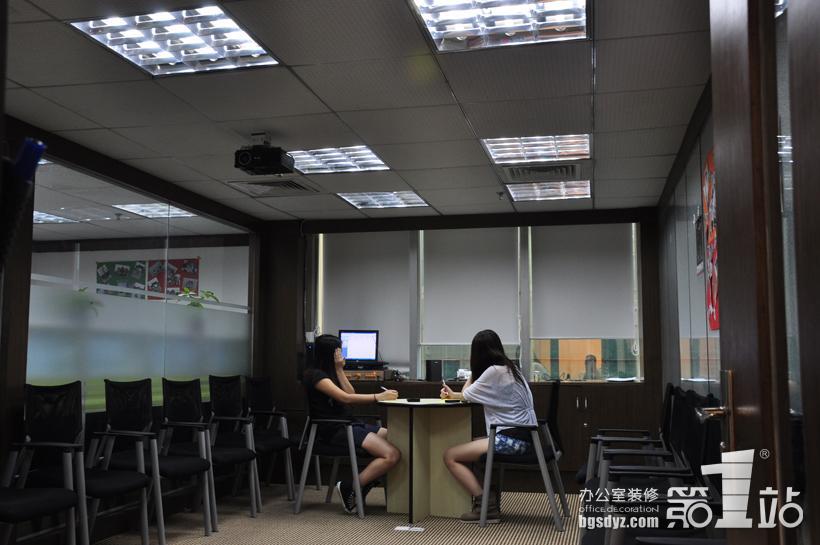 办公室装修实景图