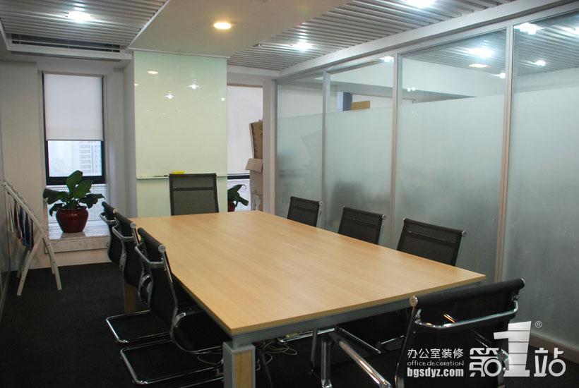 辦公室裝修會議室實景圖