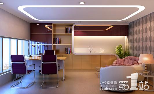 办公室装修第一站设计的办公室装修装饰效果图