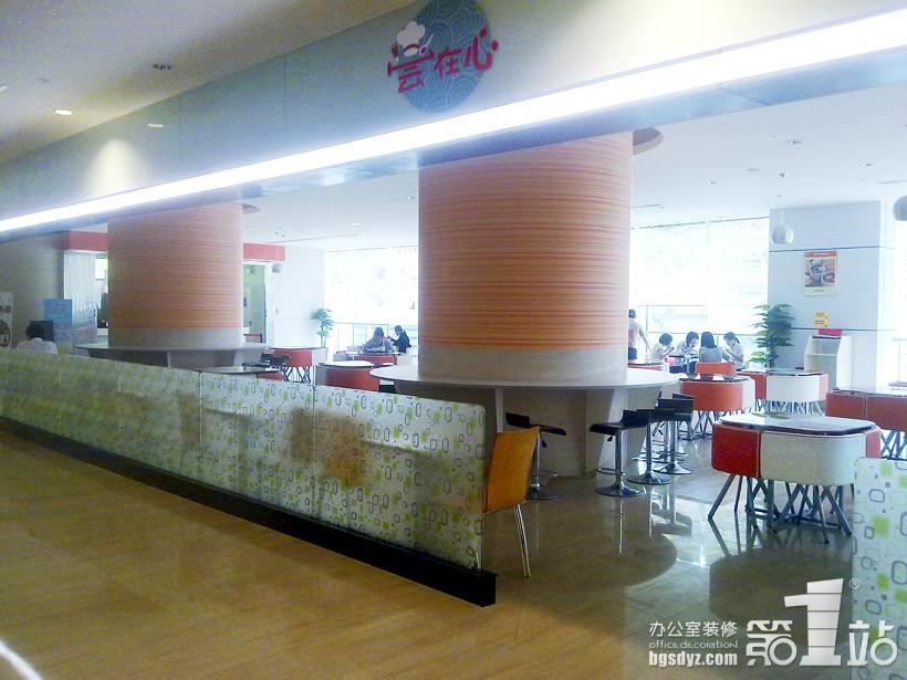 尝在心中式快餐厅装修案例图片