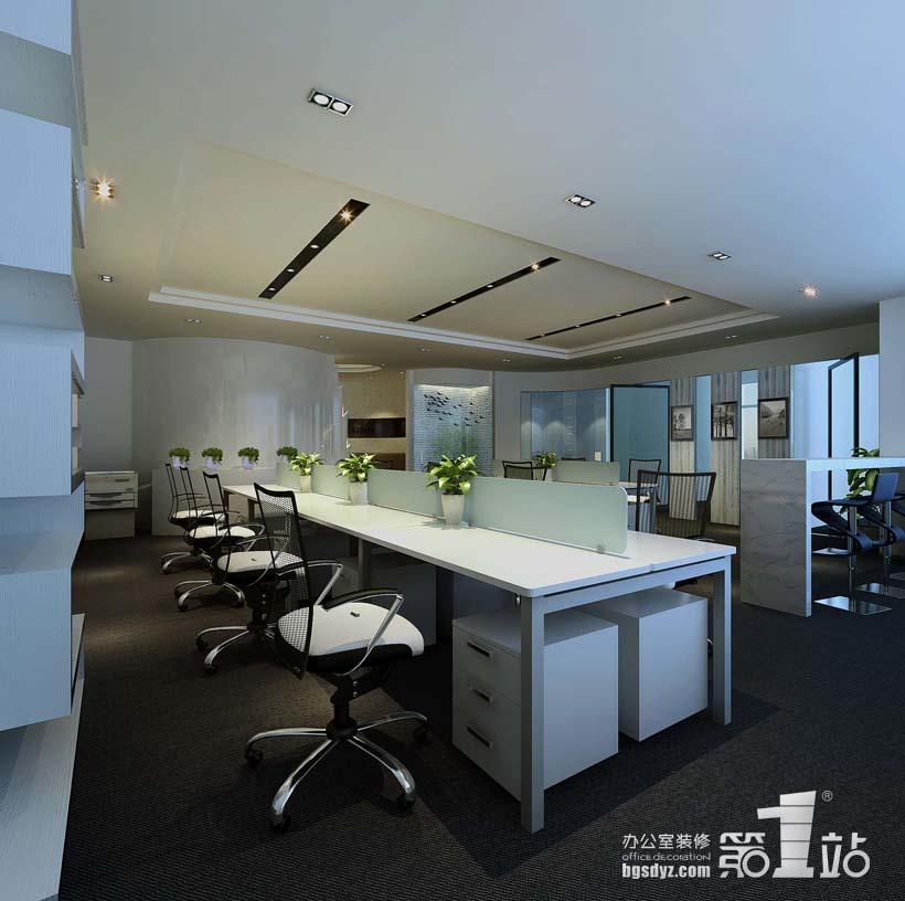 美美商务公司办公室装修案例