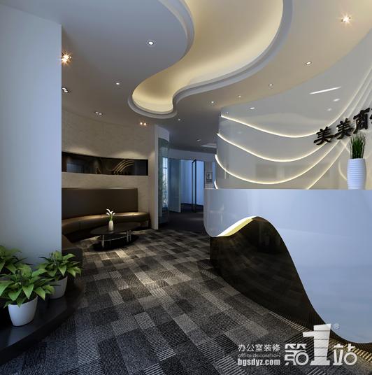 办公室装修要点户型图纸有哪些?门厅12荷塘星城风水栋图片