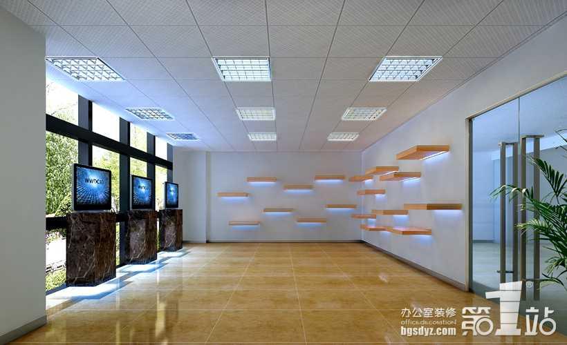 办公室装修展厅效果图1 高清图片