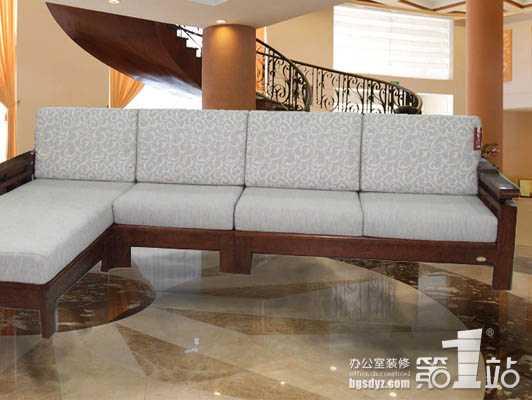 办公家具实木布艺沙发越来越受欢迎