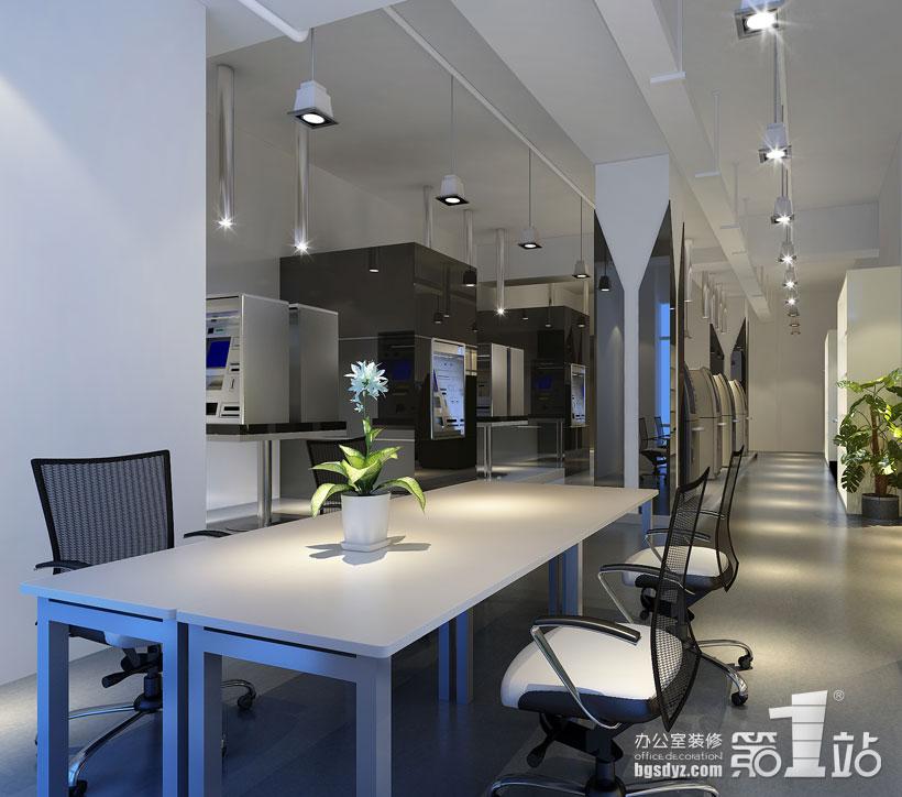 广州御银科技(atm)办公室装修案例 | 办公室装修效果图