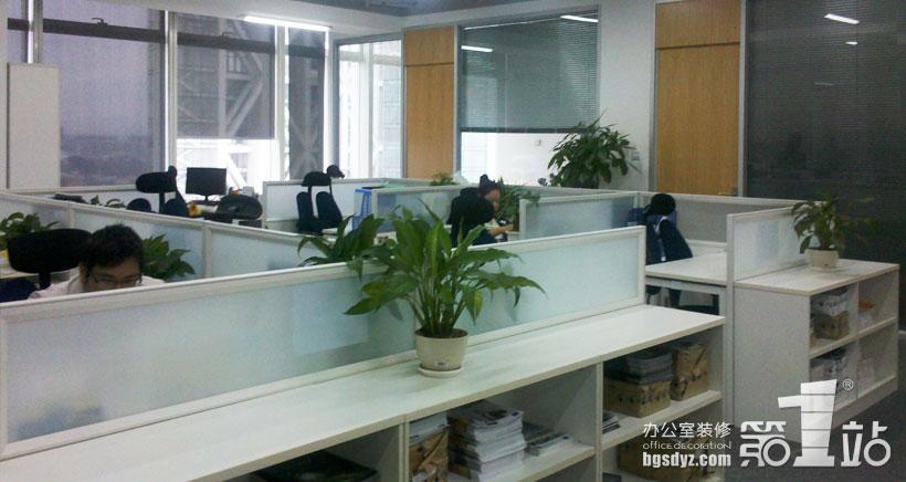 安恒集团办公室装修实景图