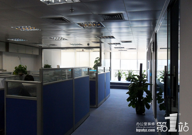 恒海国际办公室装修实景图