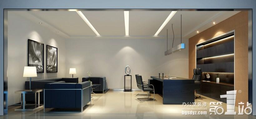 装修案例;; 总经理室吊顶效果图图片分享;