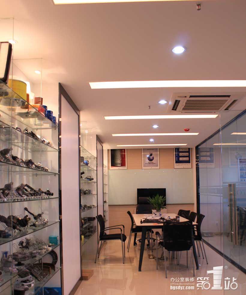 坦途汽車配件貿易辦公室裝修案例 | 辦公室裝修效果圖