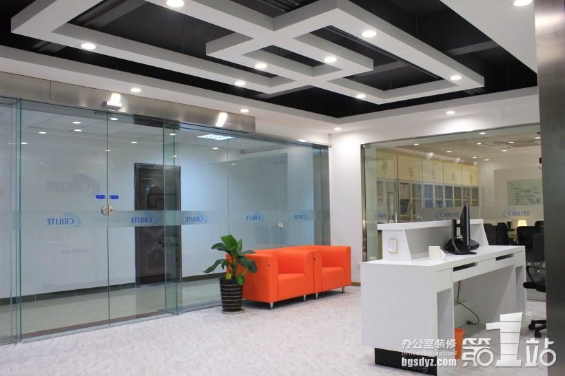 创锐特光电技术公司办公室装修案例 | 办公室装修效果