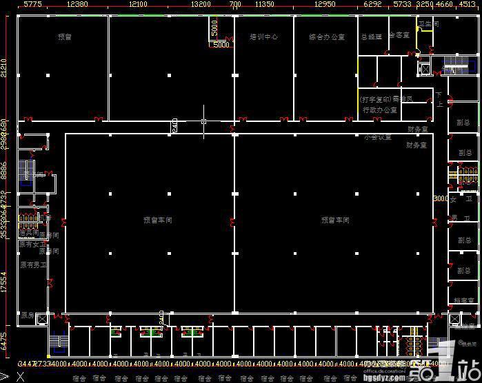 办公室装修设计时须懂得CAD图的尺寸标准(附2009cad栏菜单图片