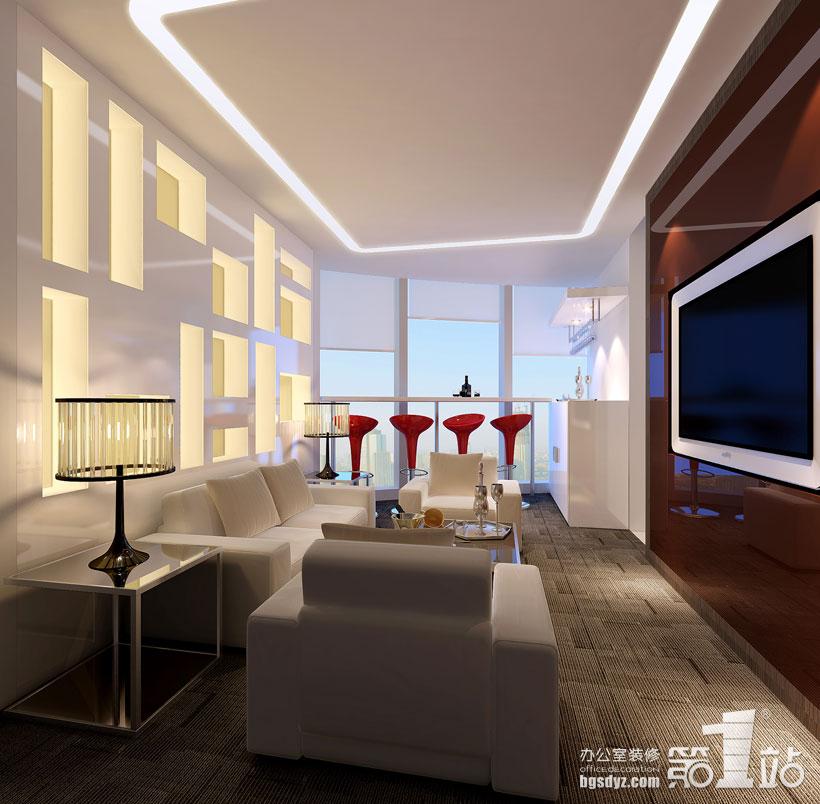 欧式办公室装修设计风格的室三大特点