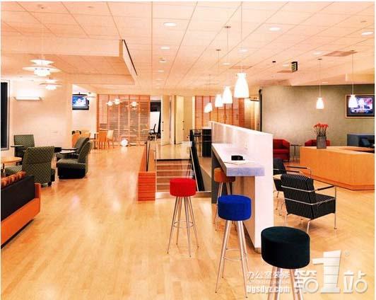 有点像欧式办公室装修风格