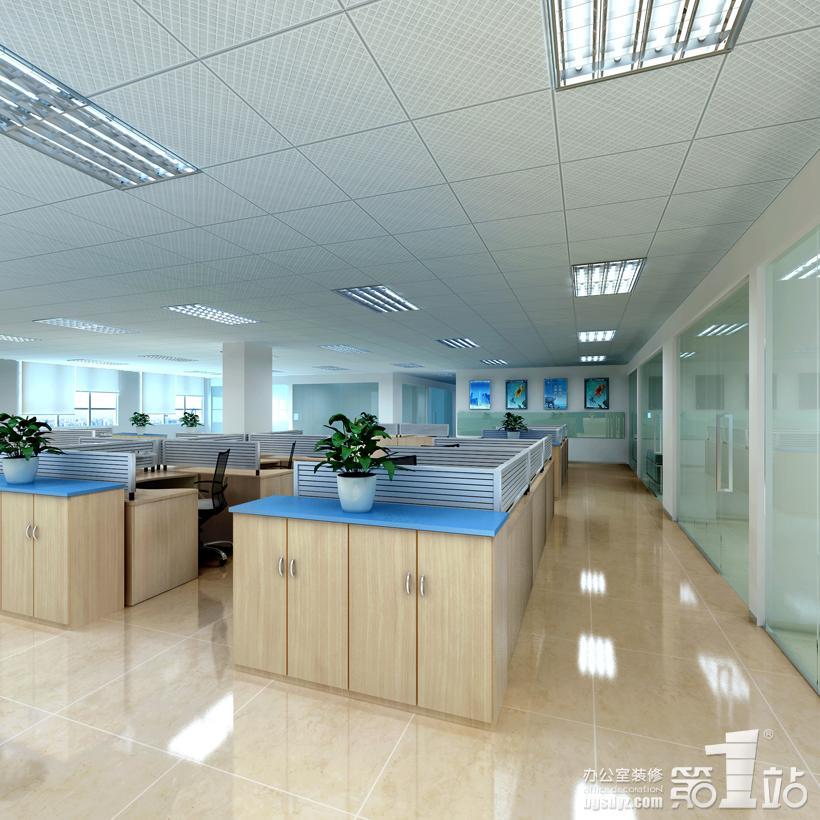 """办公室装修实景图 每行每业都会有""""菜鸟""""与"""