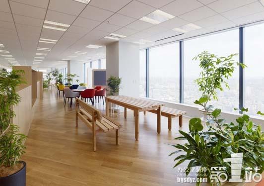 """办公室装修实景图 """"清包""""的广州装修模式精确地"""