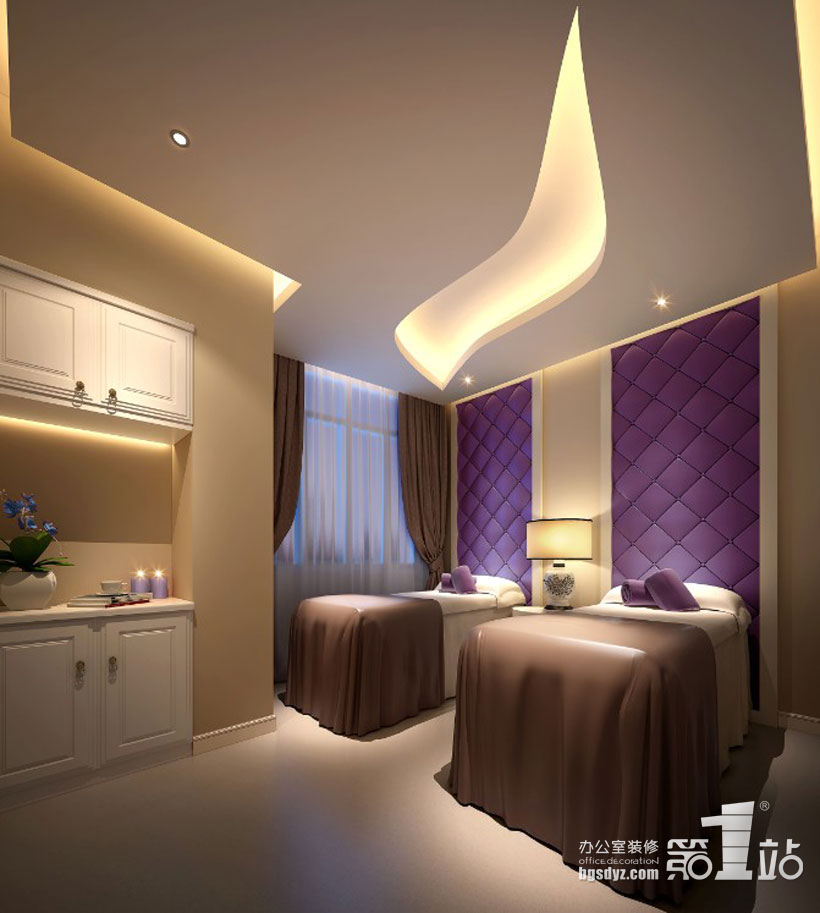 阳光综合门诊美容整形医院设计案例,广州办公室装修第