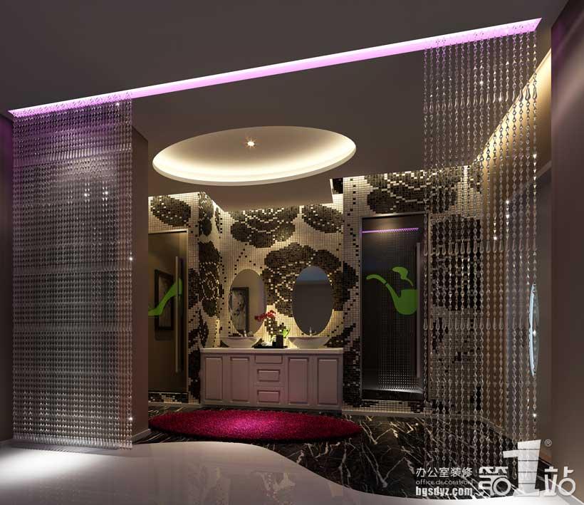 广州阳光综合门诊办公室设计案例高清图片