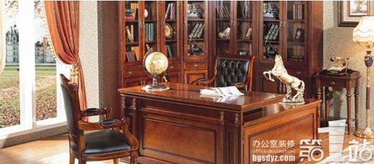 简述欧式新古典风格办公室设计