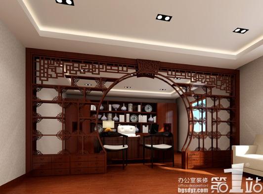 为什么中式办公室设计选择红木家具?