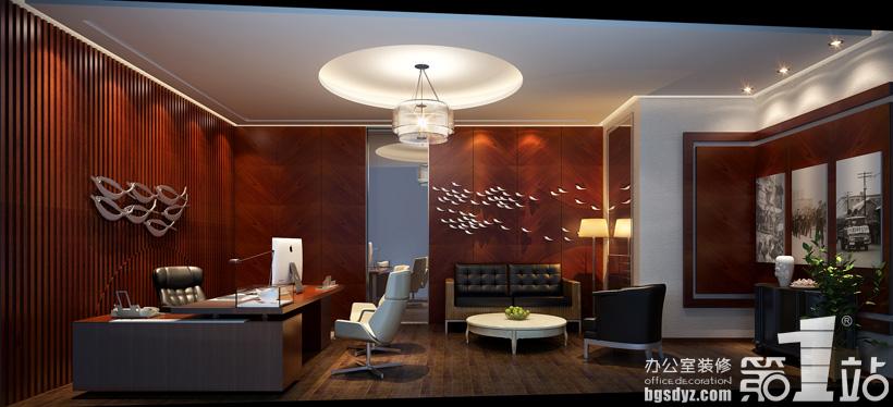 易达建信科技办公室装修设计案例