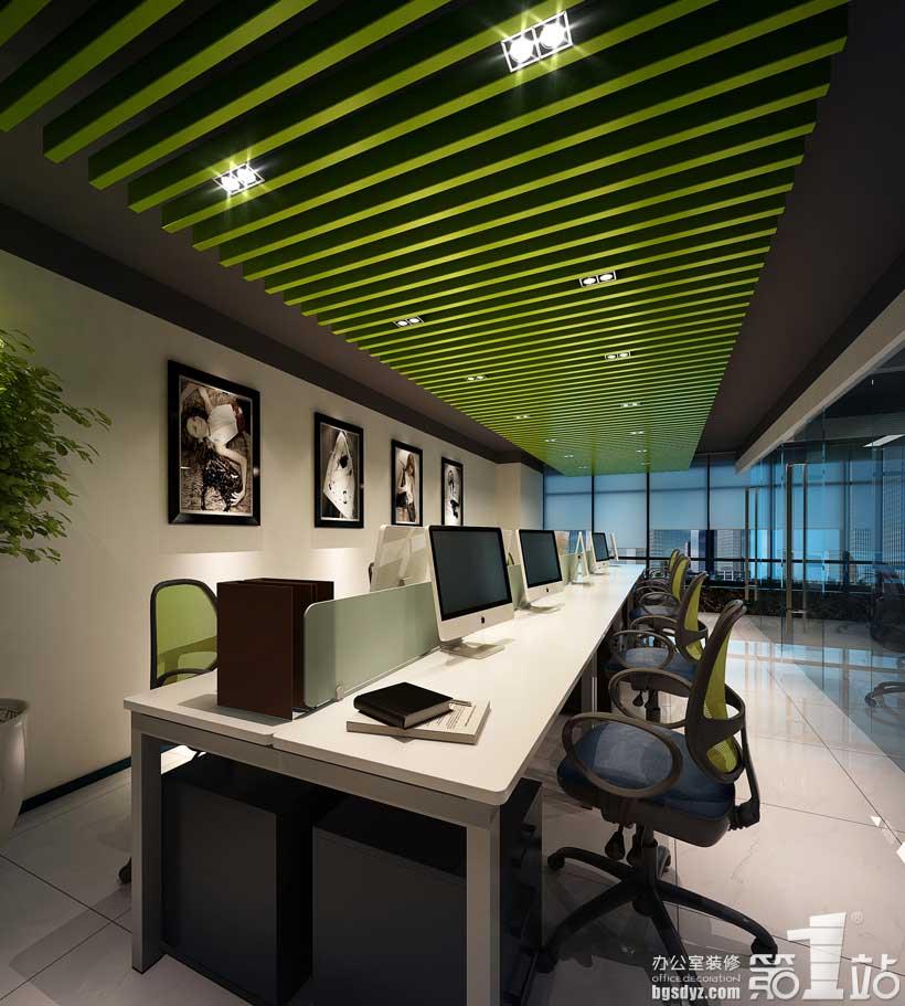 广州皮之郎皮具公司办公室装修效果图