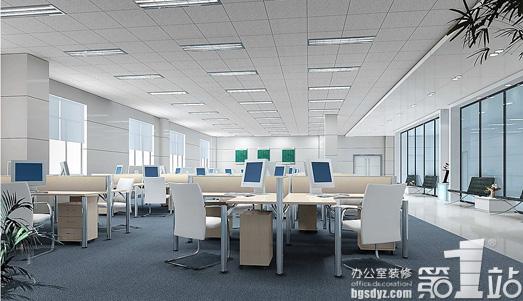 办公室装修中办公隔断的分类