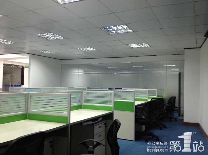 贸易公司办公室装修设计实景图
