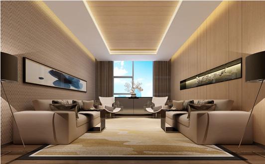 华誉国际办公室设计vip室装修效果图