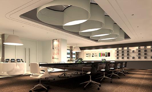 室内设计办公空间 不同行业创意设计