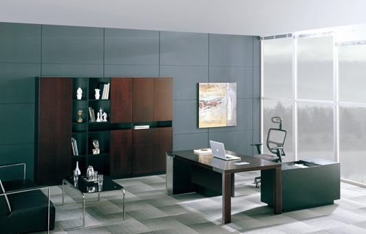 现代办公室装修风格效果图