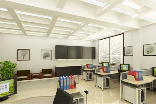 学校的办公室装修地面装饰如果铺装了地胶板之后就