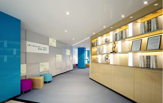 办公室装修的现代风格精品典范