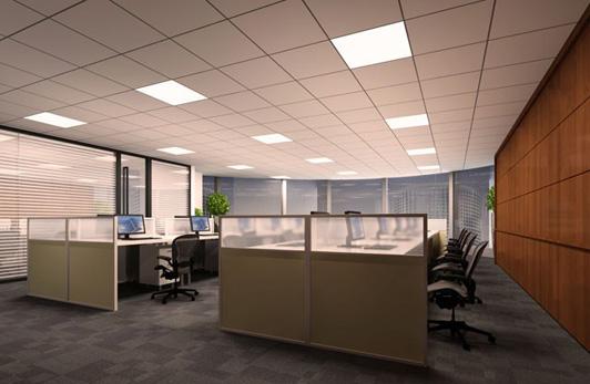 物流公司办公室装修设计