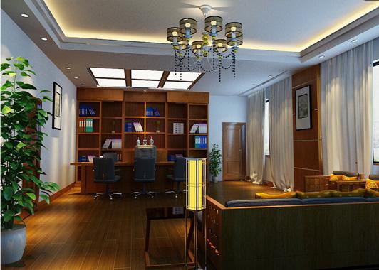 现代简约风格办公楼装修效果图-行业动态