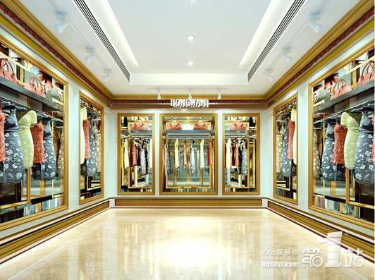 广州展厅设计公司隆万贸易展厅效果图