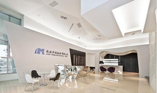 现代科技企业办公室设计